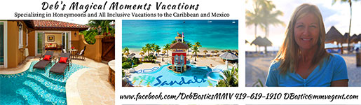 Debs Magical Moments Vacations