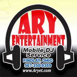 Ary Entertainment Mobile DJ Service -Ph. 567-250-9359