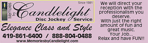 Memories by Candlelight DJ services