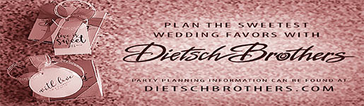 Dietsch Brothers -Fine chocolates wedding favors