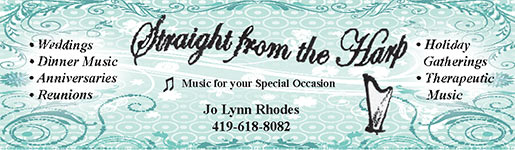 Straight from the Harp -Jo Lynne Rhodes Ph 419-618-8082
