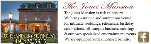 The Historic Jones Mansion in Findlay