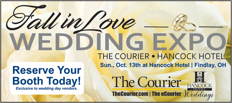 The Courier 'Fall in Love' Wedding Expo at The Hancock Hotel, Sunday, October 13th!